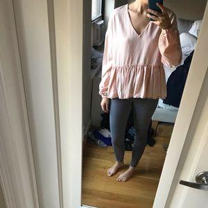 Blush Zara Foley blouse